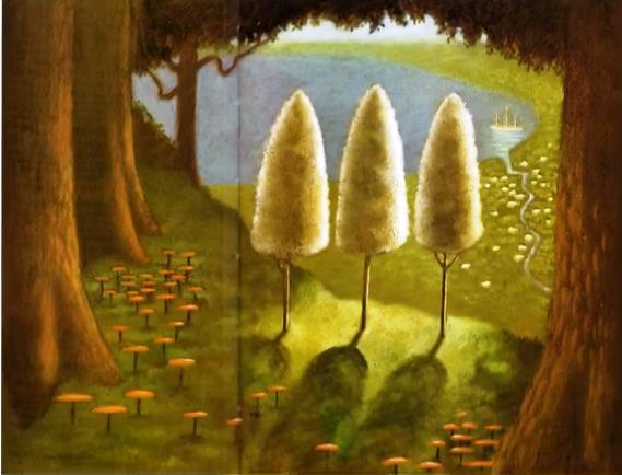 Τα τρία δέντρα (παραμύθι)   Το σπιτάκι της Μέλιας