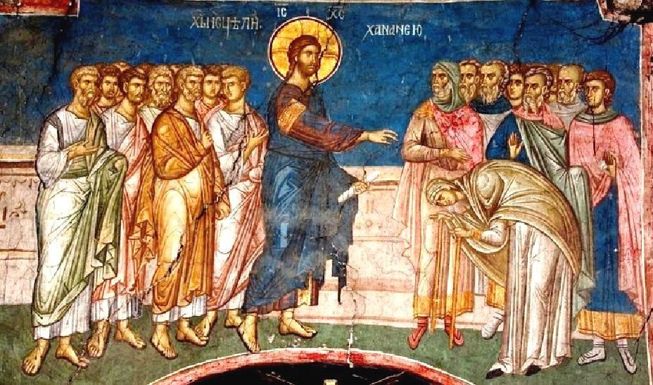 Αποτέλεσμα εικόνας για η χαναναία του ευαγγελίου