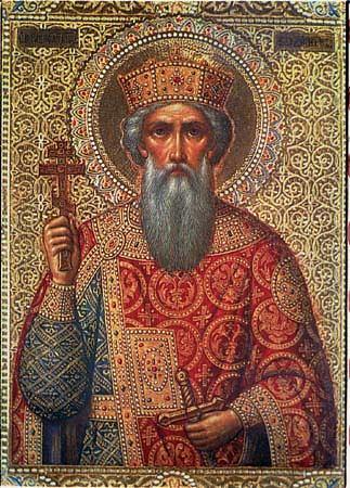 Αποτέλεσμα εικόνας για Άγιος Βλαδίμηρος ο ισαπόστολος και φωτιστής των Ρώσων