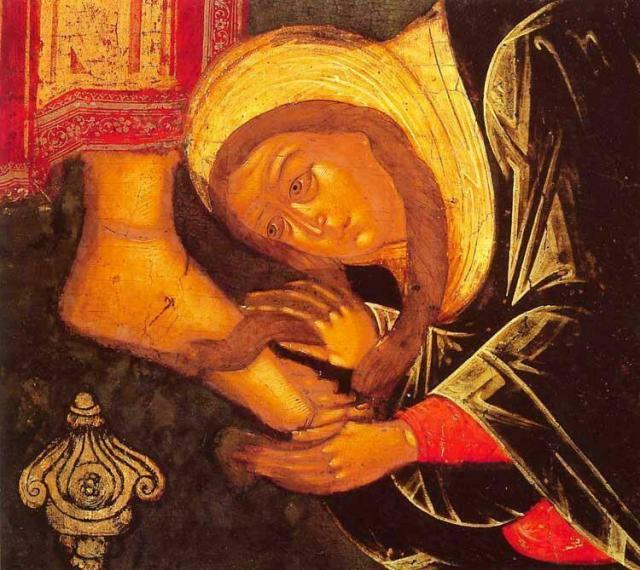 Τη Αγία και Μεγάλη Τετάρτη «της αλειψάσης τον Κύριον μύρω»   Το ...